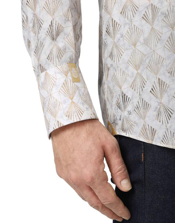 Shirt Silver Cut LS Milano/Watch Geometric