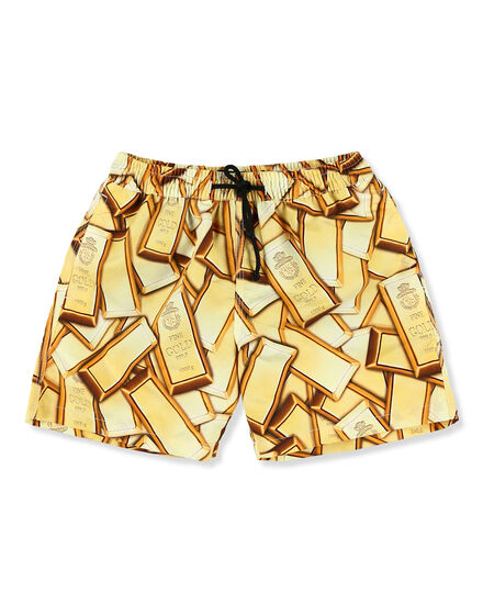 Beachwear Short Trousers Gold