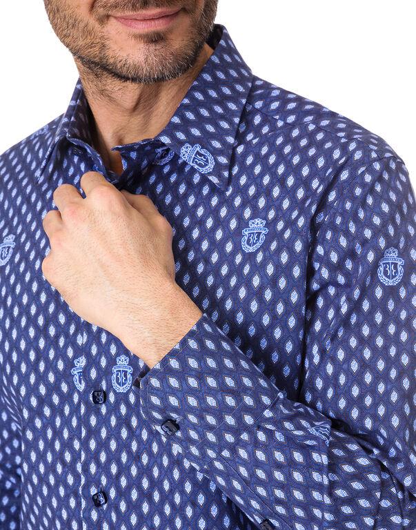 "Shirt Silver Cut LS ""Gabriel"""