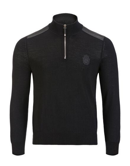Pullover zip mock Florian