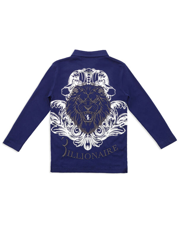 """Polo shirt LS """"Embroidery BB"""""""