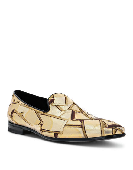 Loafers Gold