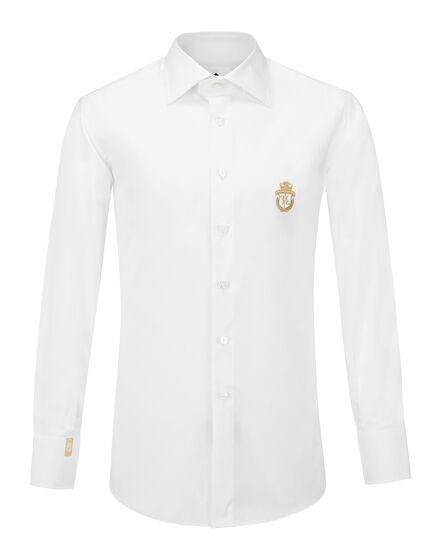 Shirt Silver Cut LS Genf