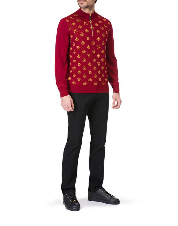 """Pullover zip mock """"Ricki"""""""