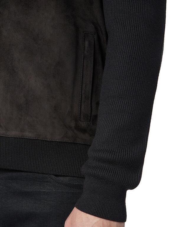 Pullover full zip Crest