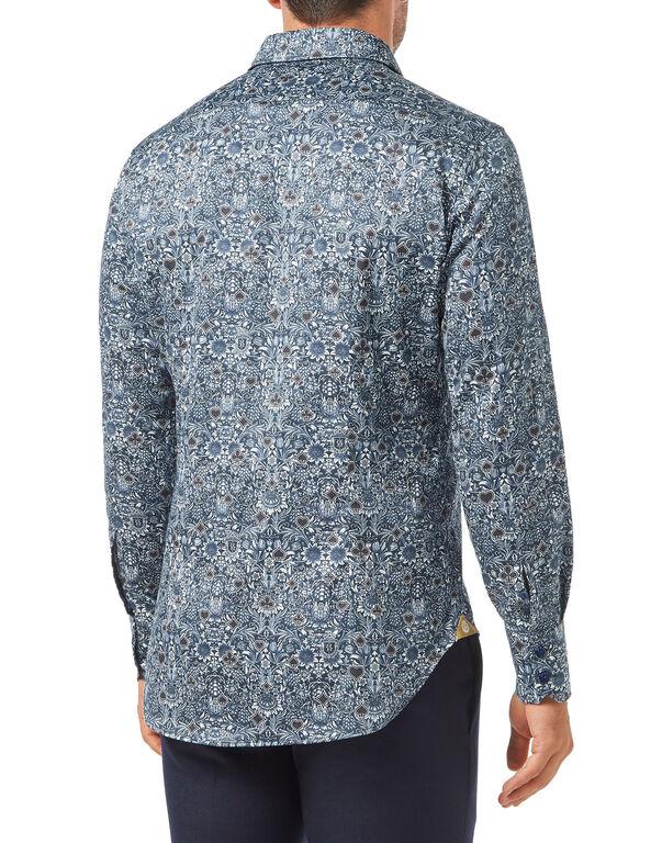 Shirt Silver Cut LS/Milano Casinò
