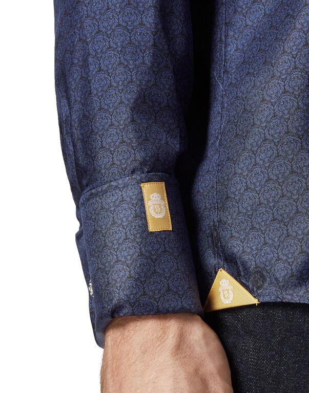 Shirt Gold Cut LS / Milano Lion