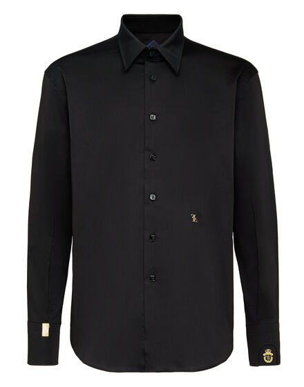 Shirt Gold Cut LS Milano/Watch Double B