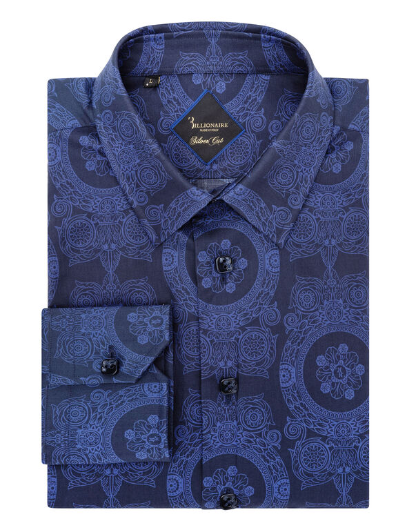 Shirt Silver Cut LS/Cristal Baroque