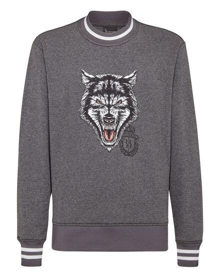 Sweatshirt LS Wolf
