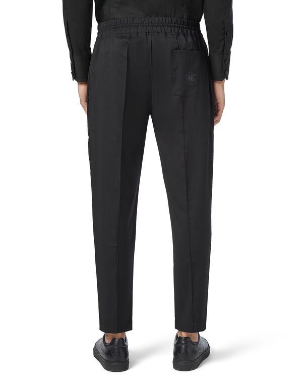 Knit Jogging Trousers -T Crest