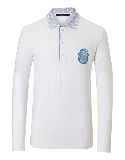 Polo shirt LS Lion