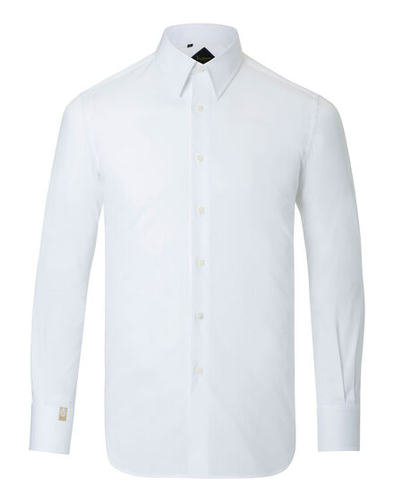 Shirt Silver Cut LS Double B