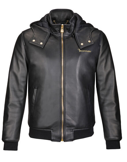 Leather Bomber Josh B.