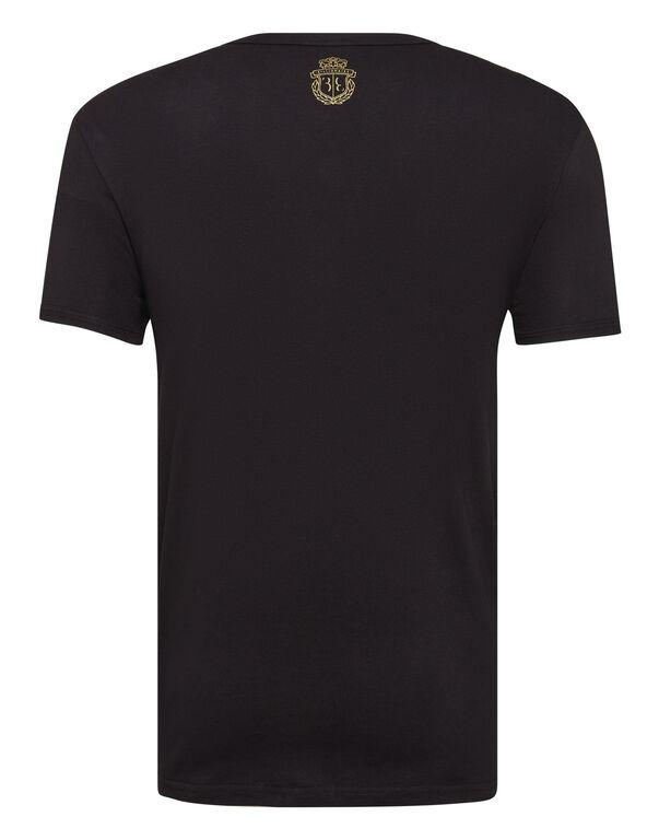 T-shirt round neck underwear Crest
