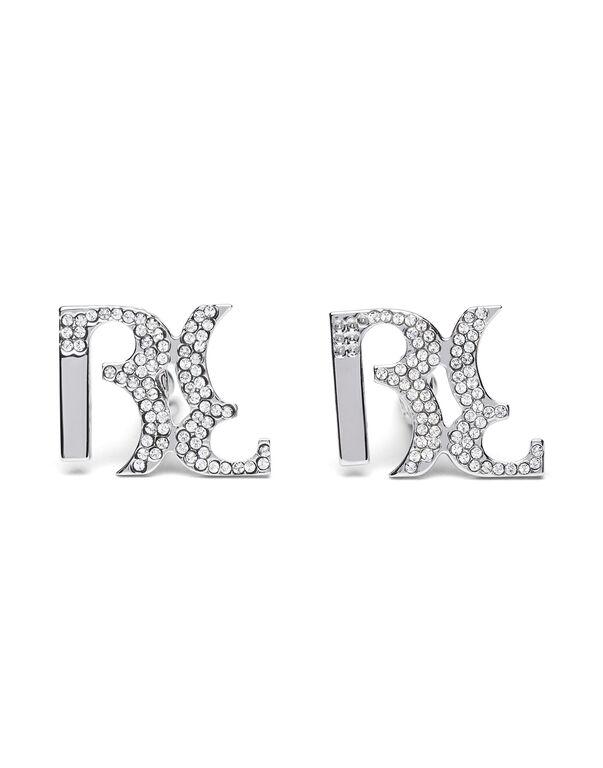 metal cufflinks Double B