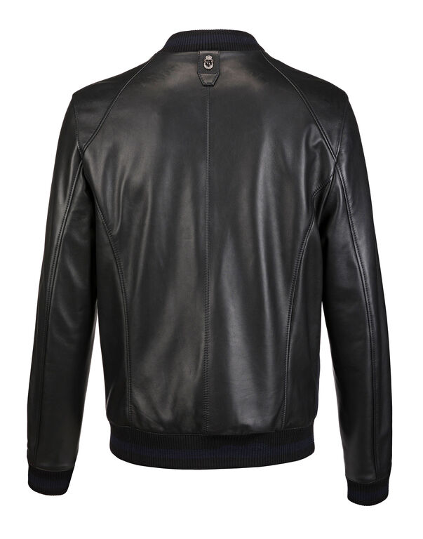 "Leather Bomber ""Roland"""