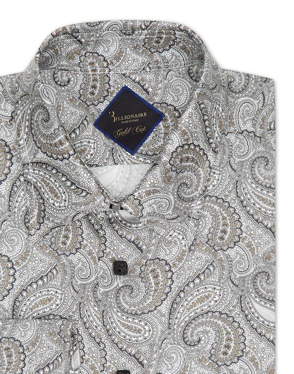 Shirt Gold Cut LS/Milano Paisley