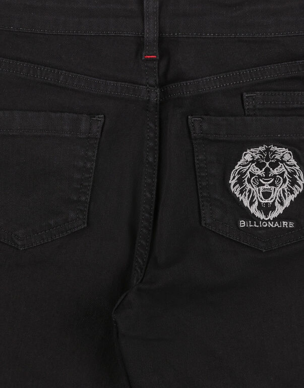 Denim Trousers - Regular Fit Lion