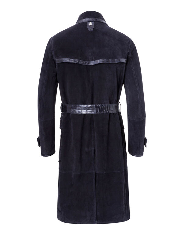 "Leather Trench Coat ""Gabriel"""