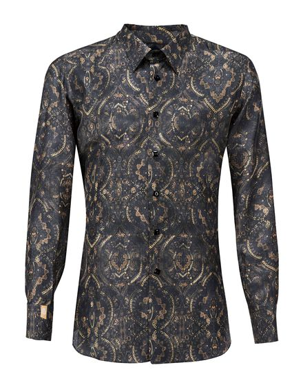 Shirt Silver Cut LS Thiago