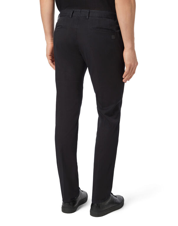Slim Trousers Chino Double B
