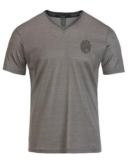 T-shirt V-Neck SS Micke