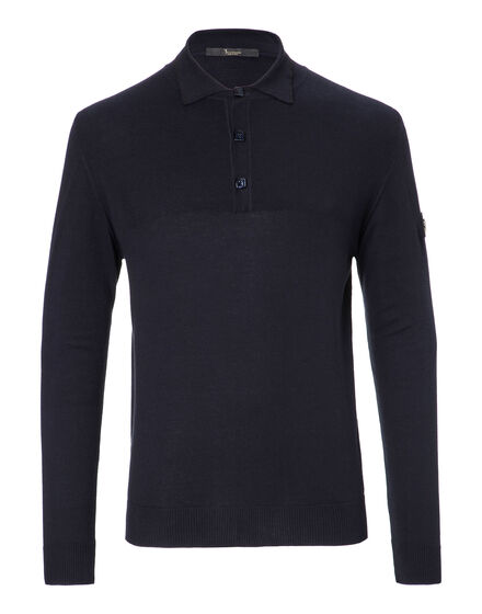 Pullover Polo-Neck LS Edouard