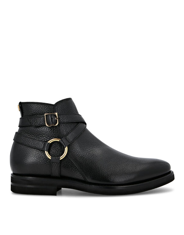 Boots Low Flat Double B