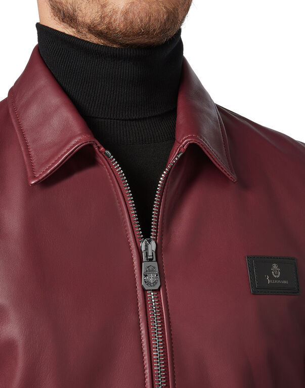 Leather Bomber Logos