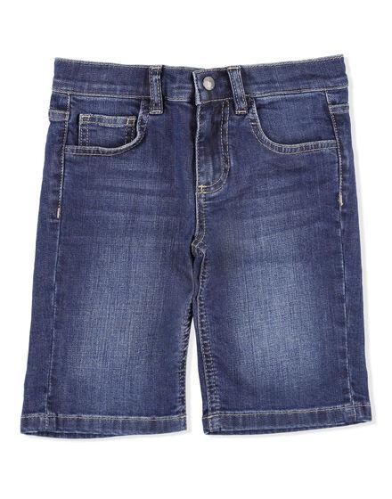 Short Denim Trousers Crest