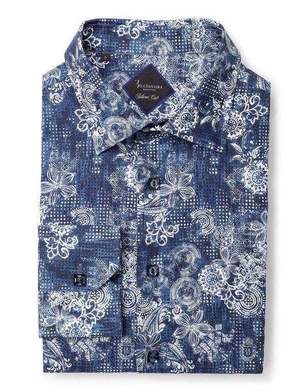 "Shirt Silver Cut LS ""Maxime"""