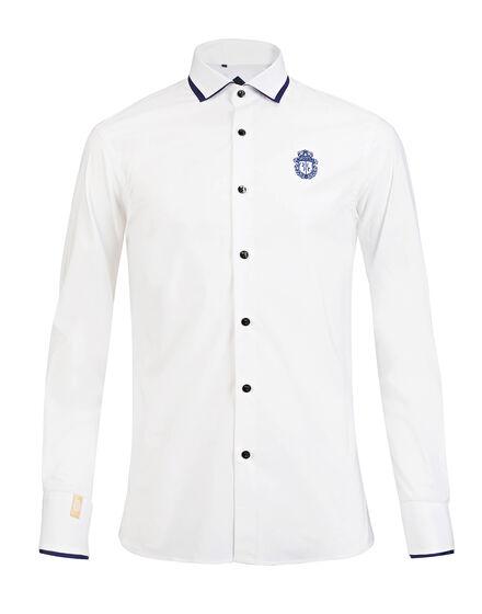 Shirt Silver Cut LS Amede