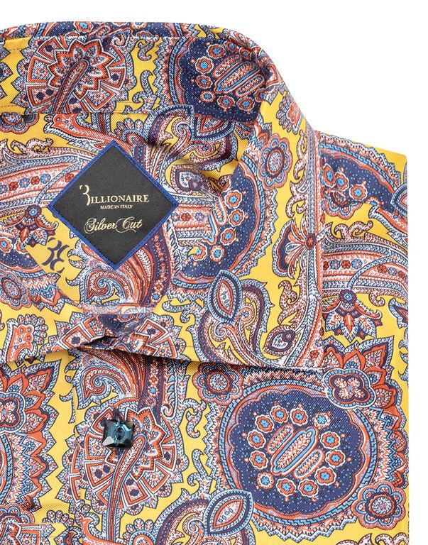 Shirt Gold Cut LS/Flavio Paisley