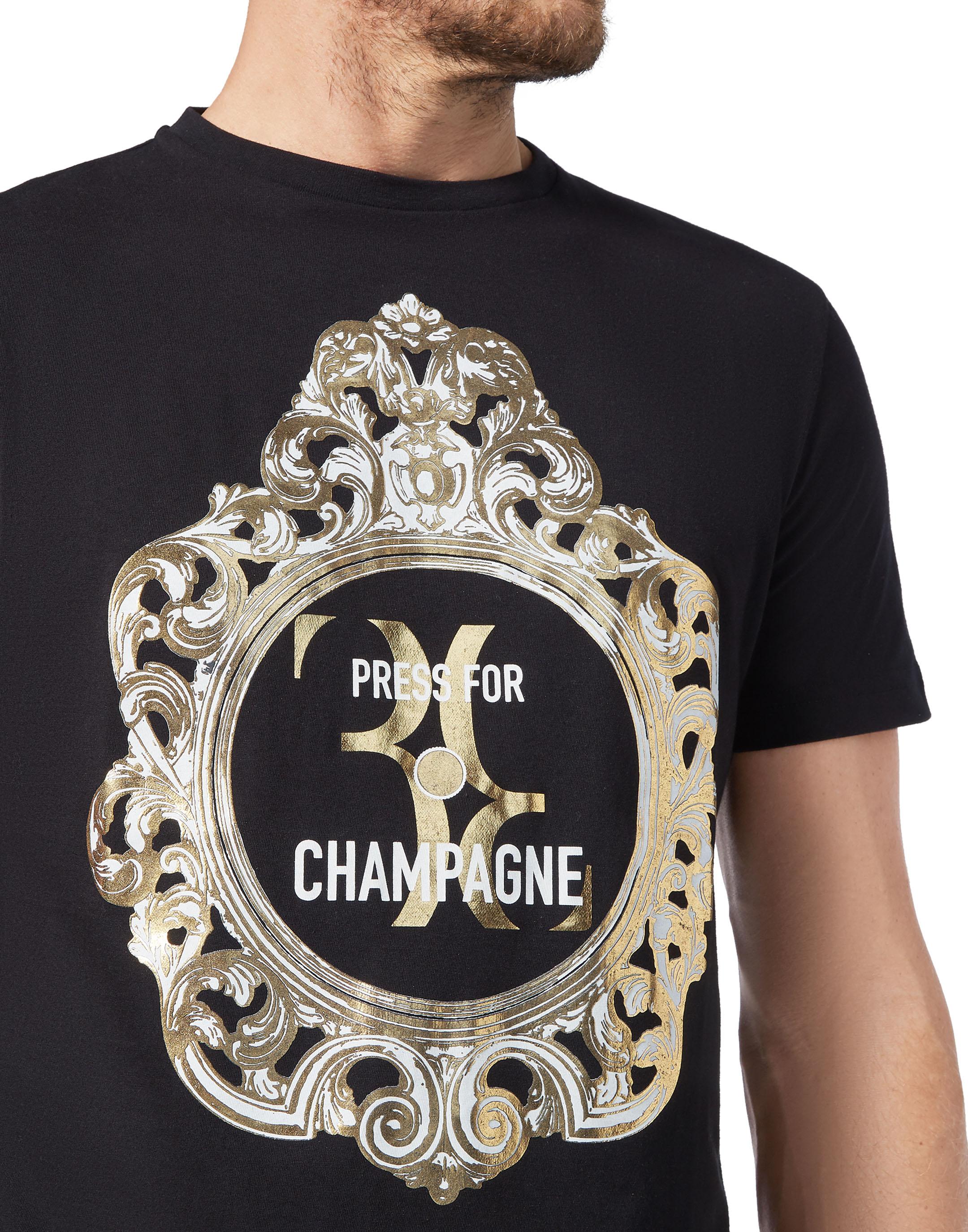 2bcb09eb T-shirt Round Neck SS Baroque Billionaire