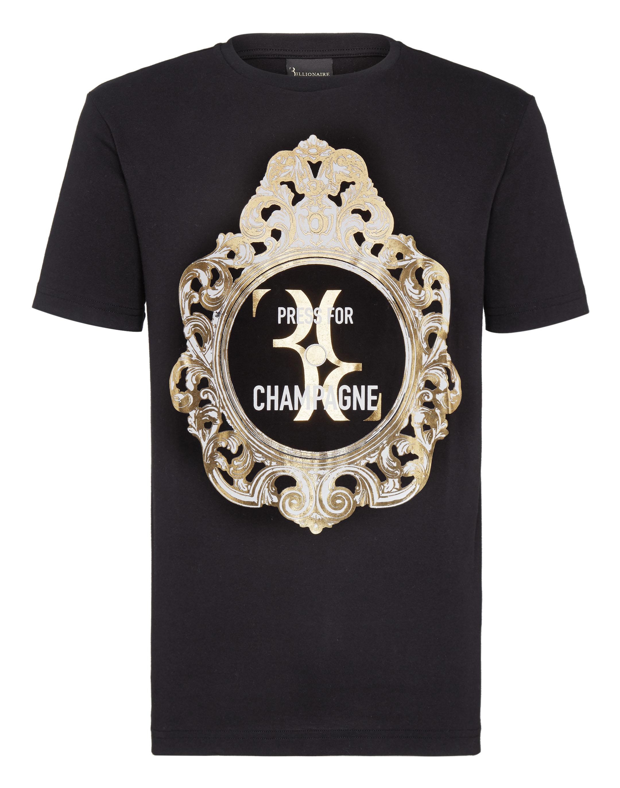 fa555c2d2d72 T-shirt Round Neck SS Baroque Billionaire